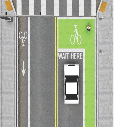 Bike Boxes Example3